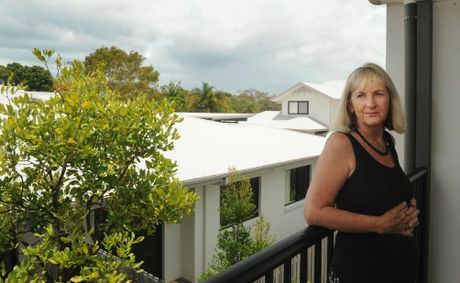 Noeleen Blatchley, who recently bought a townhouse in the Seashells complex next door to the proposed water park site, says paradise will be lost if the development goes ahead.