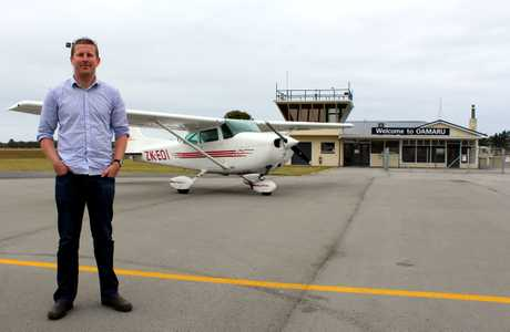 COME FLY WITH ME: North Otago Aero Club chief flying instructor Sven Thelning is looking forward to showing the public around the airport at an open day on Saturday. PHOTO/REBECCA RYAN