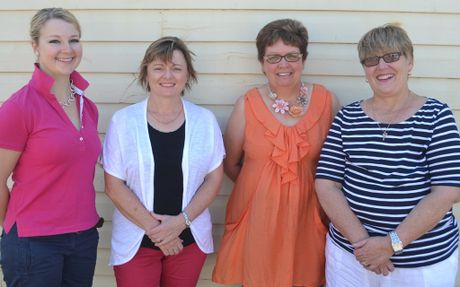 The local cancer council branch is saved with a new executive committee stepping forward. The new committee is publicity officer Kimberly Bach, Treasurer Jenny Ferry, Vice Chair Janell Lobb and Chair Rosie Carlaw.