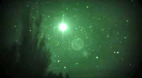 A rural Rotorua resident filmed a strange glowing ball northeast of the city on November 8.