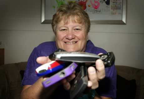 Leukaemia Foundation Caboolture branch president Jane McMillan is looking for mobile phones to help raise funds for patient support. Photo Vicki Wood / Caboolture News