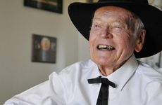 91-year-old country music performer Ron Peters. Photo Dave Noonan / The Chronicle
