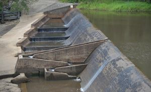 Environmentalists and anglers have been fighting to have a new fishway built to replace the existing fish ladder at the No 1 dam on the Burrum River at Howard.