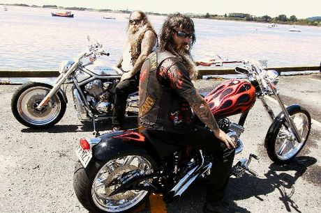 Filthy Few Motorcycle Club's Dennis (Deno) Pedersen (pictured front) died doing what he loved - riding a motorcycle.