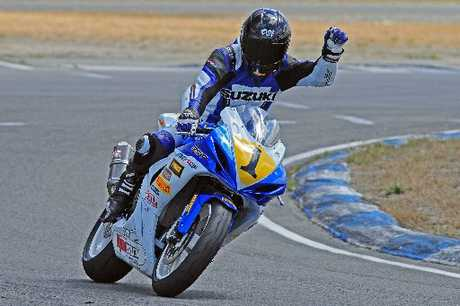 WELCOME RETURN: Multi-time national champion Dennis Charlett of Suzuki is stepping back up to the superbikes class this season. PHOTO/SUPPLIED