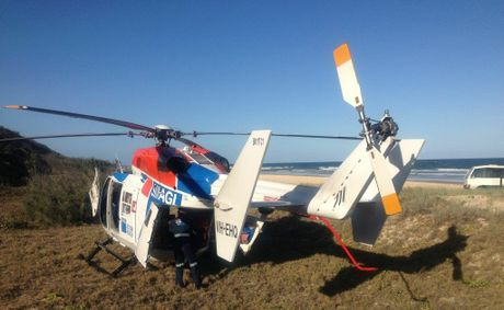 The AGL Action Rescue Helicopter