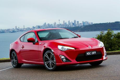 Toyota's 86 is this year's Drive Car of the Year.