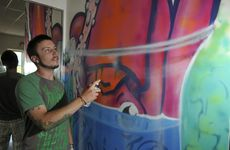 Street artist Ian McCallum of Kontraband said illegal graffiti gives those who do it legally a bad name.
