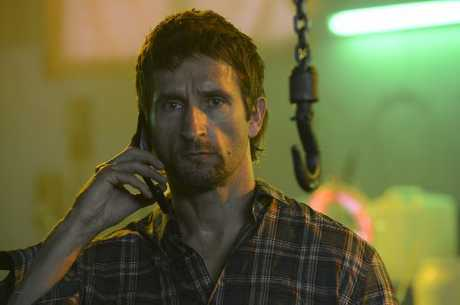 Jonathan LaPaglia stars as criminal Anthony Perish in Underbelly: Badness.