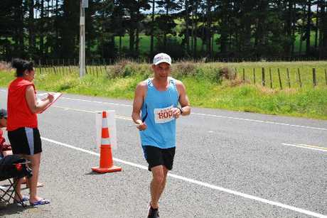 Northland's Conan Herbert's team finished fourth overall in the 300km K2M run on the weekend. Photo / Supplied