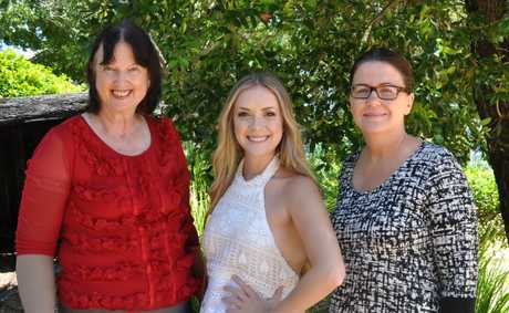 Sunshine Coast Cr  Jenny McKay, Kelsie Rimmer and SCDL Marketing and Brand Director Veronica Rainbird