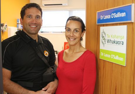 KAITAIA GP Dr Lance O'Sullivan and his wife Tracey, now practising independently at Te Kohanga Whakaora.