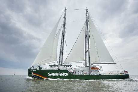The new Rainbow Warrior will visit Northland early in the New Year. Photo / Greenpeace