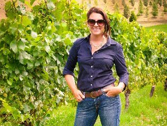 Viticulturist Brittany Thompson