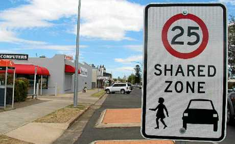 The shared zone signs put up less than two months ago will be removed in a few weeks time.