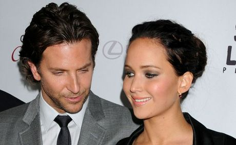 Bradley Cooper and Jennifer Lawrence