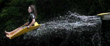 Last week&#39;s winner: Destiny Gollop on the hydro slide at Waimarino. Photo by John Borren, Chief Photographer Bay of Plenty Times. 