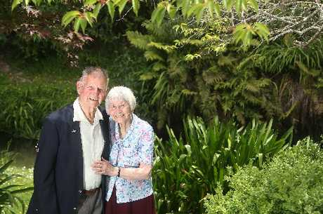 John and Maisie Bond have spent more than seven decades together.