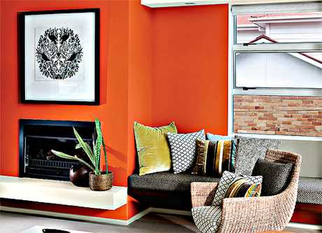 A splash of colour can really uplift a tired room. Try the following colours from the Resene range