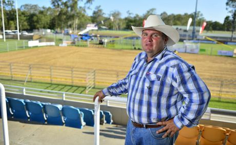 Rod Nunn is gearing up for the Grand of Experience 4BS rodeo at Marley Brown Oval. Photo Christopher Chan / The Observer