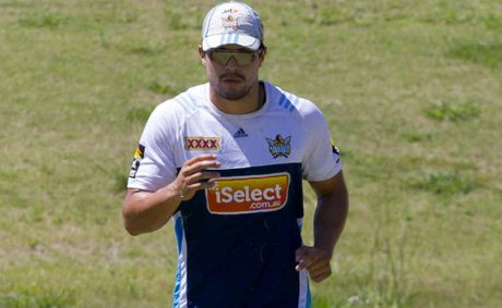 Coffs locals will get to see Titans winger and Sawtell product Kevin Gordon put through his paces next week when the club hits the region for its annual preseason training camp. Photo: Kylie Cox