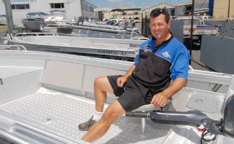 IN YOUR BOAT: Brett Griffin is one of thousands of Mackay boaties who enjoy getting out on the water.