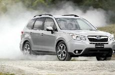 Subaru's new Forester is at home on the dirt.