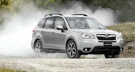 Subaru&#39;s new Forester is at home on the dirt.