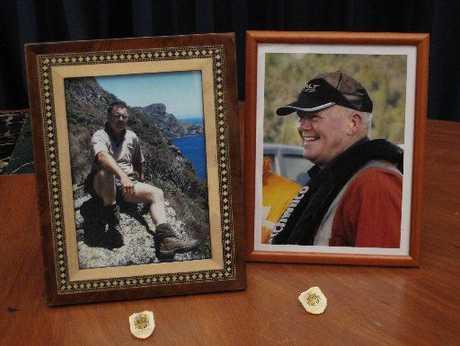 "William Macrae (left) and John ""Prickles"" de Ridder lost their lives fighting a devastating fire on the Karikari Peninsula."