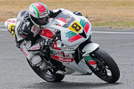 CHOSEN MAN: Invercargill's Jeremy Holmes will be part of the Blue Wing Honda team for Suzuki Tri Series and the rest of the summer racing calender. PHOTO/SUPPLIED