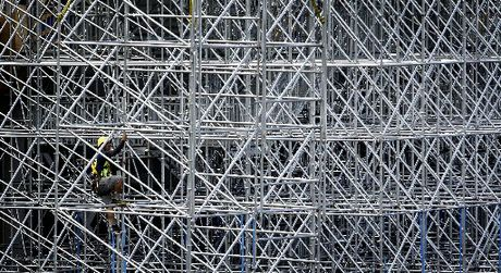 Scaffolding needs to be completely safe and secure
