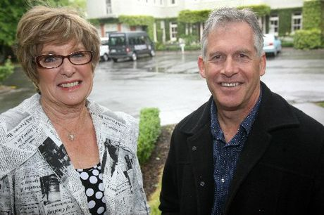FAREWELL: St Matthews Collegiate School teachers Barbara Roydhouse, head of art, and Andrew Wallace, head of science, are stepping down after 25 years at the school.