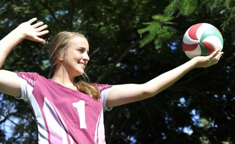 YARALLA SPORTS: Yaralla Sports Star, Georgia Armitage. Photo Kerry Thomas/The Observer