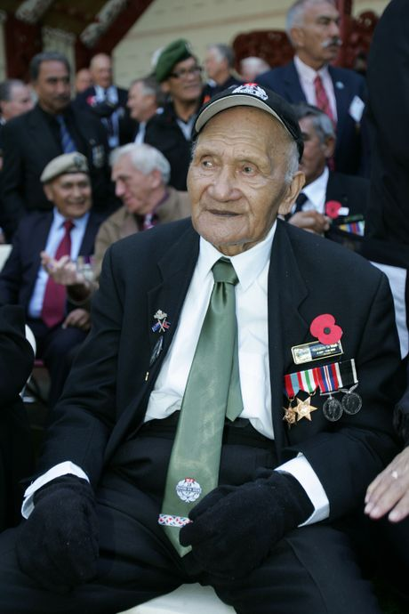 28th Maori Battalion veteran Sol Te Whata celebrates his 95th birthday this weekend