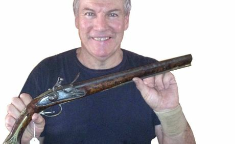 Military Loans on Fired Up  Don Mahoney With A Dragoon Horse Holster Pistol  Which Dates