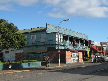 The Kaikohe Hotel.