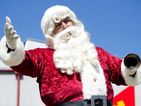 BIG VISIT: Santa will visit the Workshops Rail Museum in December.
