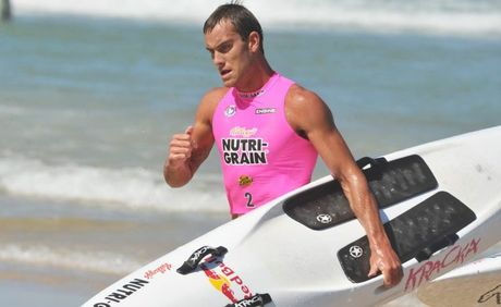 Kellogg&#39;s Nutri-Grain Ironman Series at Coolum Beach. Matt Poole cools down 