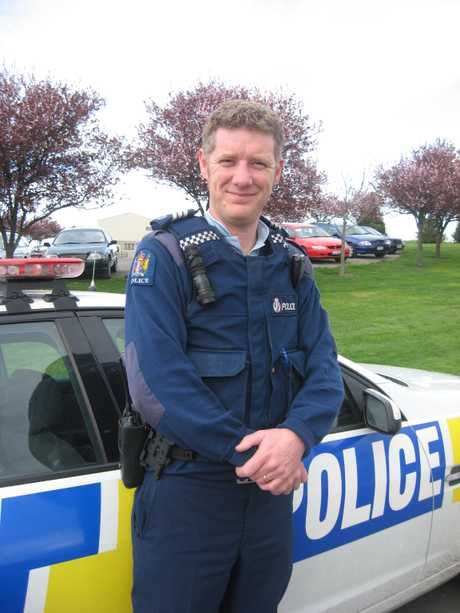 Oamaru police Sergeant Blair Wilkinson. PHOTO/FILE