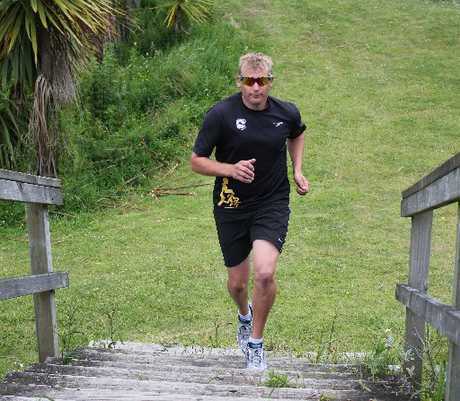 David Littlewood has recovered from a critical condition to take on the Tinman Triathlon.