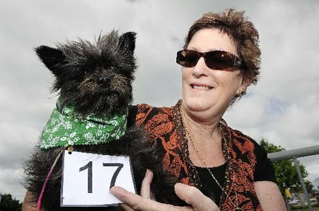 Winner Lynn McKay and her dog Harry McKay.