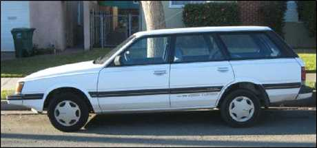 Police are appealing for sightings of a 1989 silver Subaru station wagon prior to Thursday evening.
