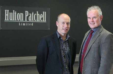 Hulton Patchell principals John McRae (left) and Murray Patchell are excited to be merging with Deloitte.