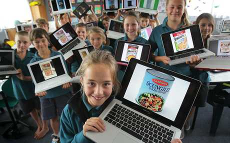 Tahatai Coast School students are taking part in the campaign to raise money and food for the Tauranga Community Foodbank.