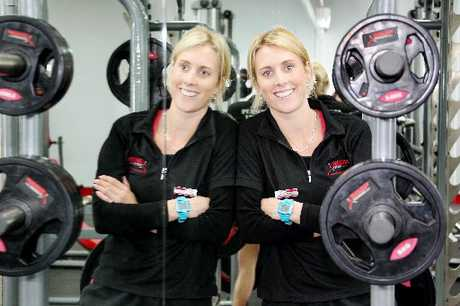 ON REFLECTION: Emily Naylor finds a niche at the Snap Fitness gym in Hastings.PHOTO/WARREN BUCKLAND HBT124327-03