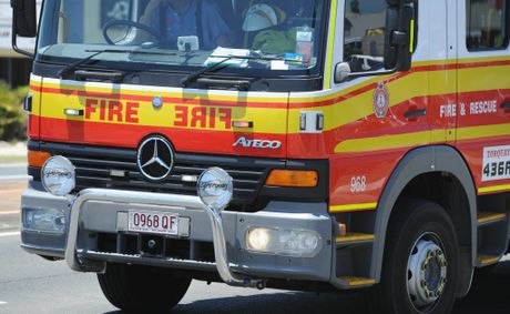 Fire brigade. Photo: Alistair Brightman / Fraser Coast Chronicle