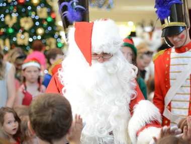 Santa is one attraction at shopping centres around the country at the moment. Stockland Rockhampton has Santa. Stockland Rockhampton is expecting up to 750,000 visitors in the lead up to Christmas.