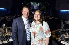 Ipswich Mayor Paul Pisasale with his daughter Lisa at the Mayor's 20th anniversary in local government dinner at the Ipswich Civic Centre on Monday, December 3, 2012. Photo: Claudia Baxter / The Queensland Times