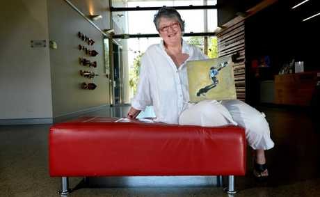 Trish Callaghan (Border art prize winner) Photo: John Gass / Daily News