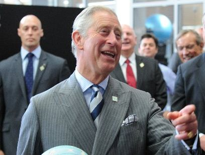 New Zealand's next monarch, Prince Charles, wore his grey New Zealand wool suit with pride during his visit here last month.